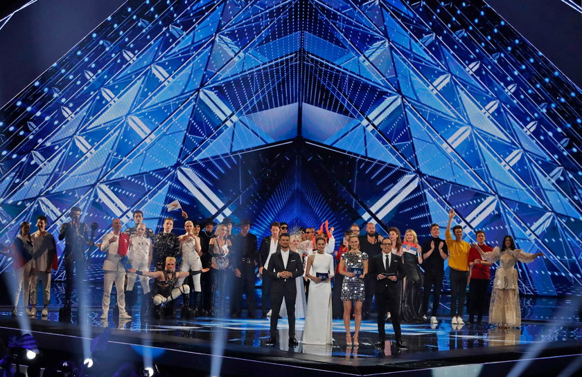 Reprezentacji Islandii podczas występu na Eurowizji