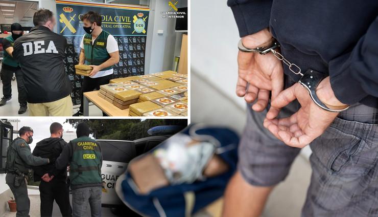 spanija policija kokain kombo RAS Shutterstock, Guardia civil de interior