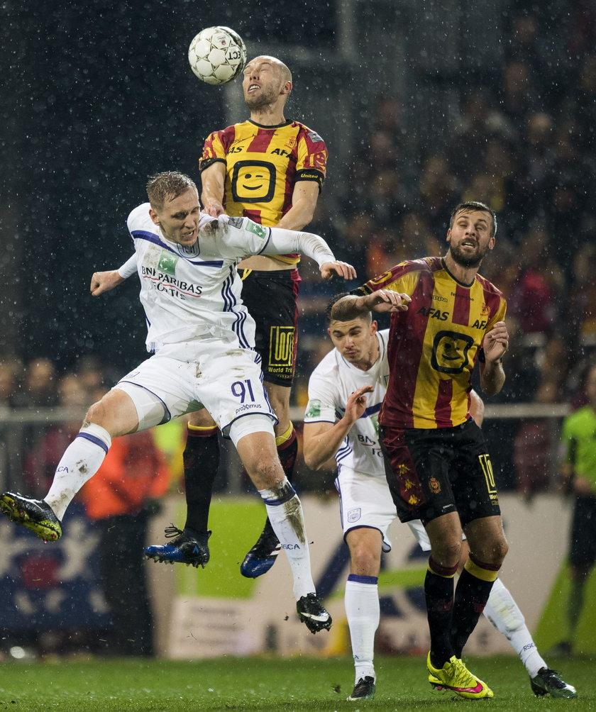 Łukasz Teodorczyk znów strzelił, ale Anderlecht Bruksela przegrał