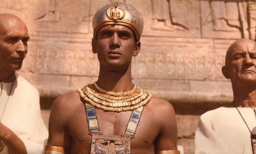 Jerzy Zelnik jako faraon Ramzes XIII