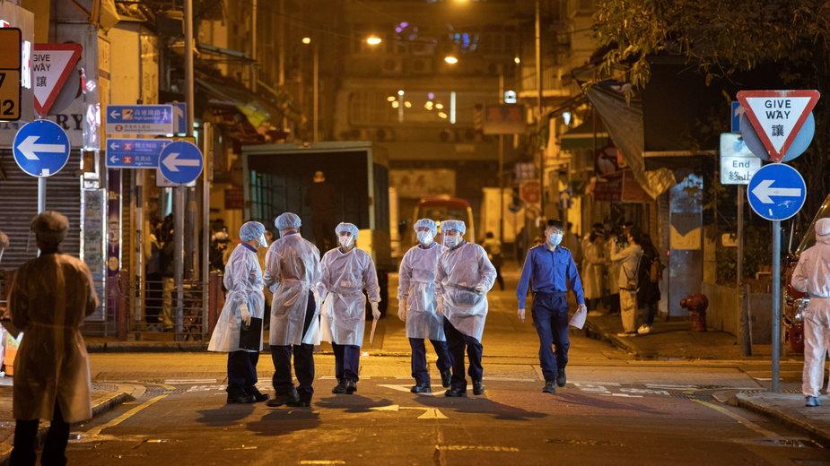Koronawirus w Hongkongu. Lockdown z zaskoczenia
