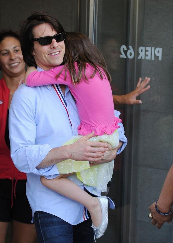 Tom Kruz sa ćerkom