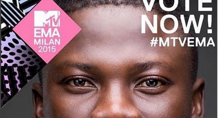 Stonebwoy 2015 MTV EMANominee