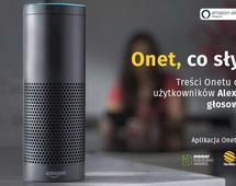 Treści Onetu dostępne dla użytkowników Alexy, asystentki głosowej Amazona