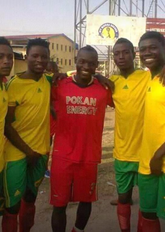 Samuel Nnamani started his football career on the streets of Ajegunle [Celebrity Timeout]