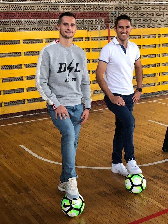Miroslav Vulićević i Nemanja Miletić