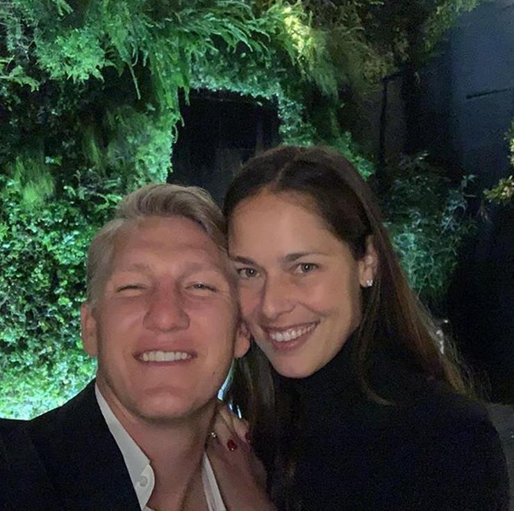Ana Ivanović i Bastijan Švajnštajger
