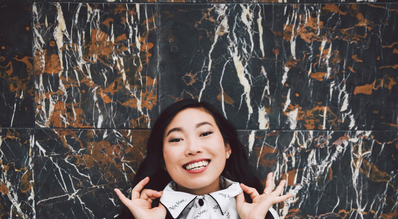 Awkwafina Returns to Queens, and Nora Lum