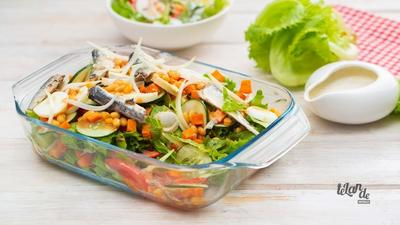 DIY Recipes: How to make the best Vegetable Salad in just one step