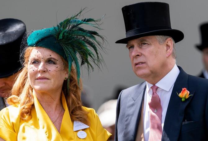 Princ Endrju i Sara Ferguson danas