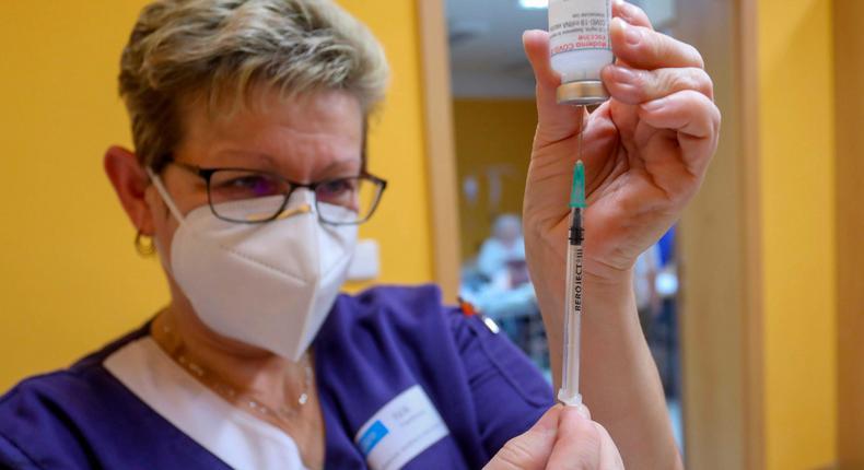 Moderna stock has soared over the last year on the back of its coronavirus vaccine.