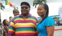 Actress Bimbo Oshin and her husband Ola Ibironke