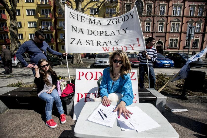 Protest w Siemianowicach Śląskich
