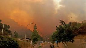Fala pożarów na południu Włoch