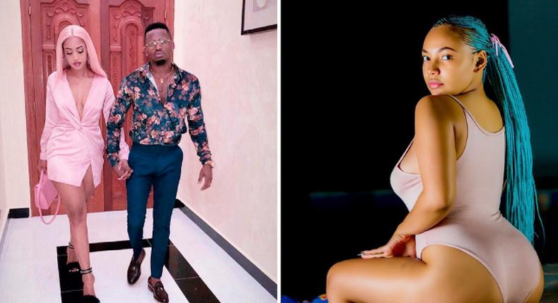 Usineletee um*vi - Video vixen accused of seducing Diamond hits back