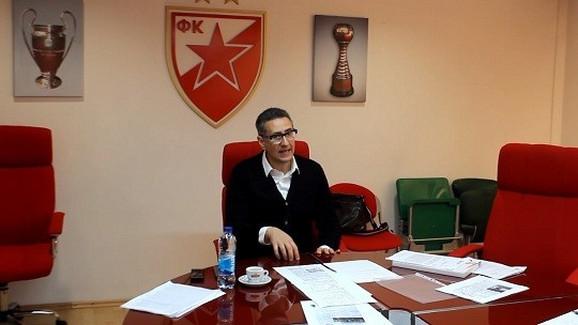 Dragan Milošević, predsednik Nadzornog odbora FK Crvena zvezda