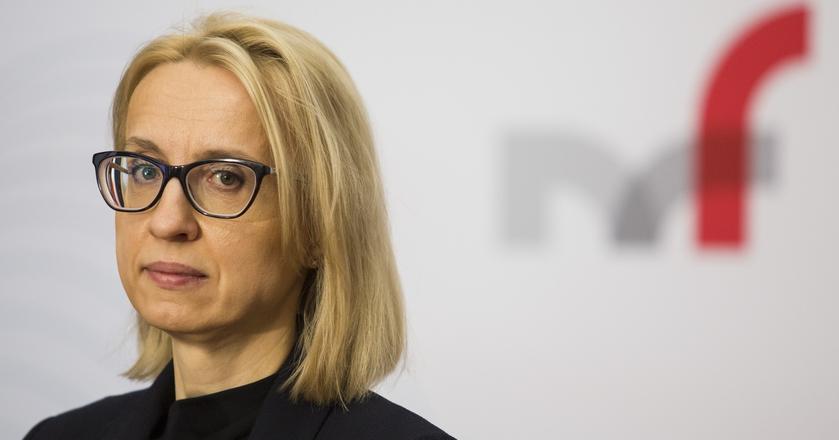 Teresa Czerwińska powiedziała, że po lutym będzie w budżecie nadwyżka