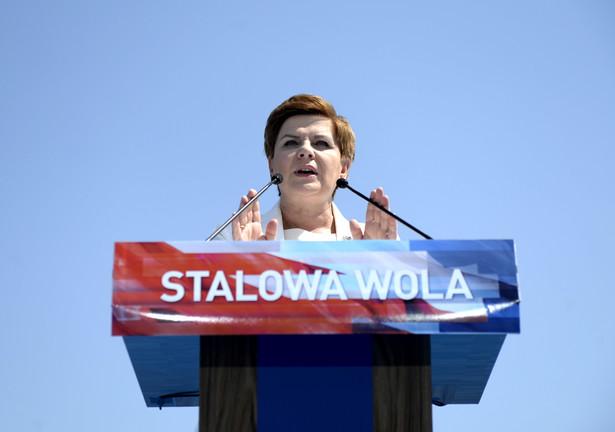 Kandydatka PiS na premiera Beata Szydło, PAP/Darek Delmanowicz