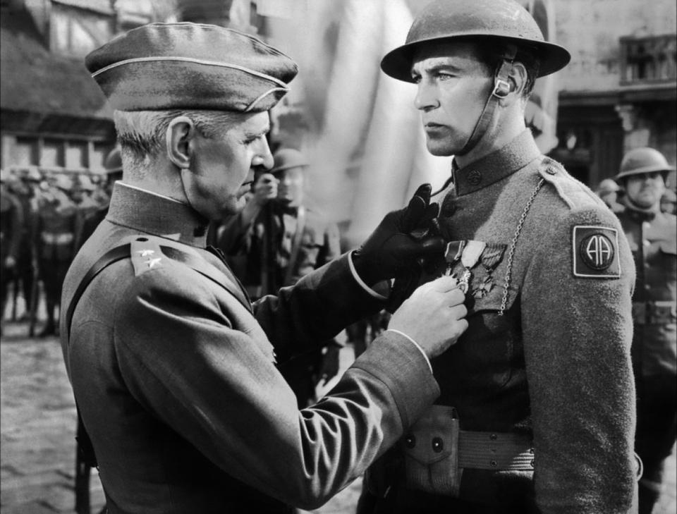 """Sierżant York"", reż. Howard Hawks, 1941 r."