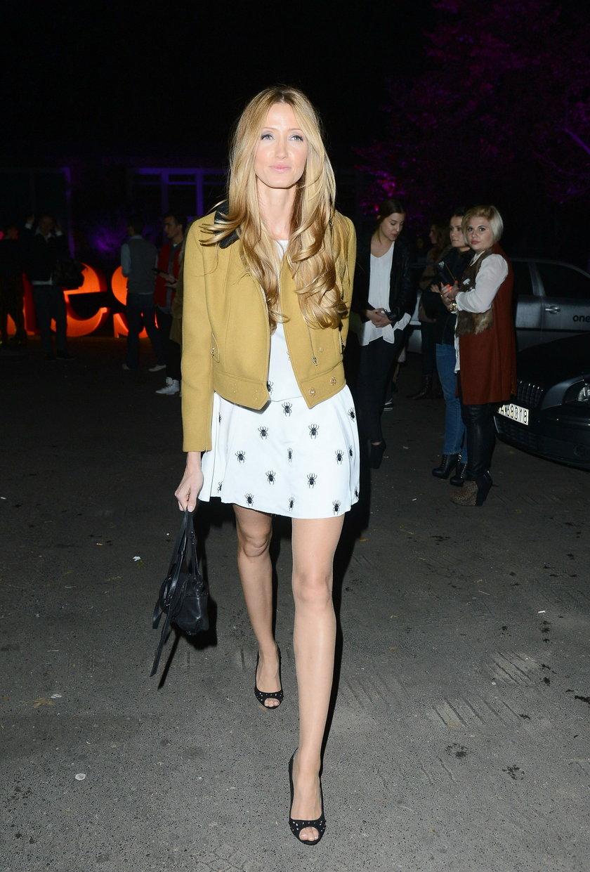 Kate Rozz w sukience Zienia