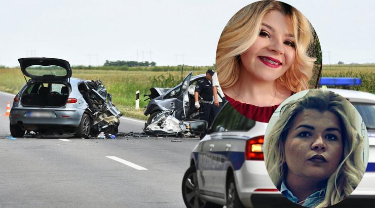 Saobraćajna nesreća na Zrenjaninskom putu kod Kaća, poginule sestre Dobrila i Vida Milić