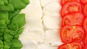 Prosecco i mozzarella symbolami włoskich wakacji