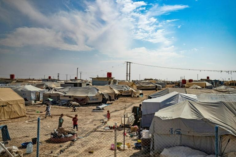 Most families of IS fighters are held in the dusty Al-Hol encampment, a tent city home to more than 70,000 people