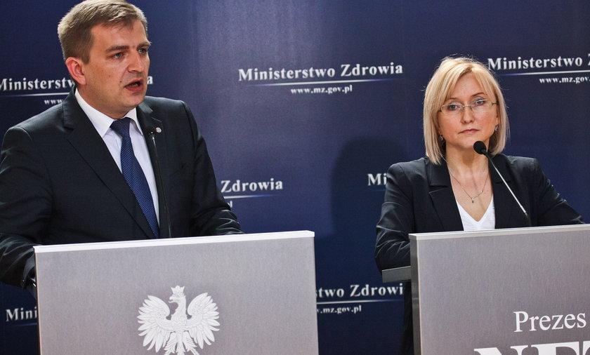 Agnieszka Pachciarz nowa prezes NFZ.