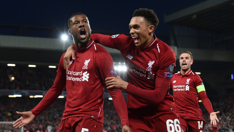Radość Liverpool FC