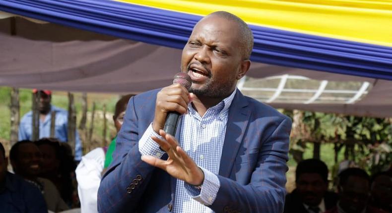 Gatundu MP Moses Kuria speaks during a past event