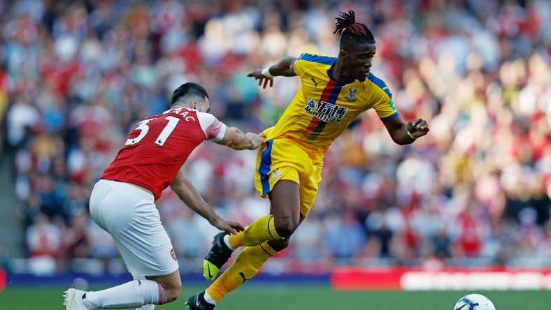 Crystal Palace's Wilfried Zaha is a target for Arsenal
