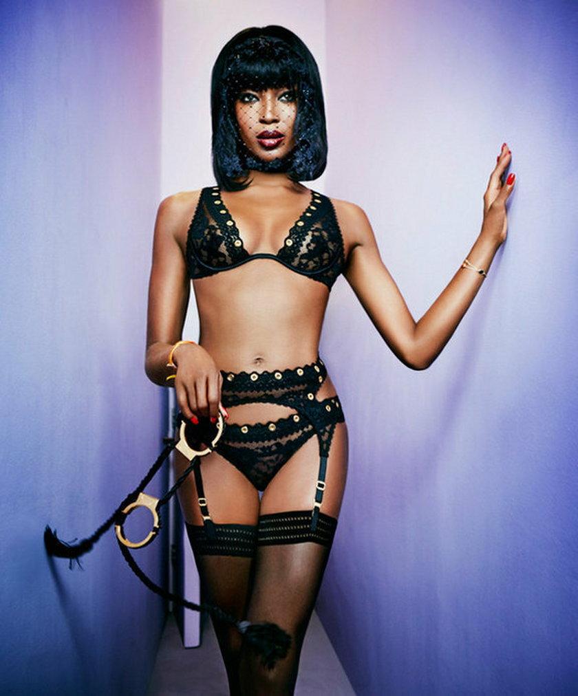 Naomi Campbell uwielbia rozbierane, bardzo odważne sesje