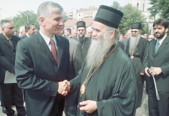 Sa Zoranom Đinđićem