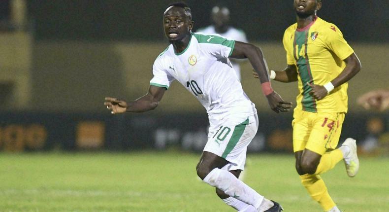 Le Congo avait contrait le Sénégal au match nul (0-0à lors des qualifs pour la dernière CAN - Photo du match aller entre le Sénégal et le Congo-B Le 13 novembre 2019 AFP - SEYLLOU