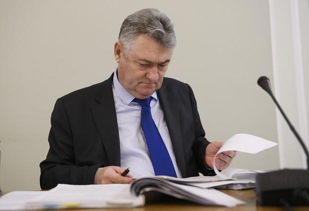 yły rzecznik dyscyplinarny Prokuratury Apelacyjnej w Gdańsku Andrzej Łojkowski zeznaje przed sejmową komisją śledczą ds. Amber Gold
