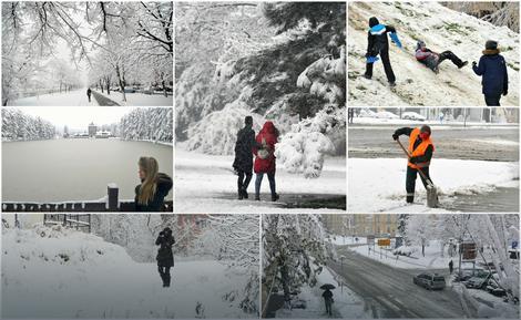 Sneg u Srbiji