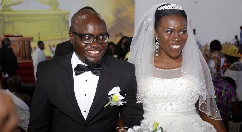 Odelia Ofori and husband
