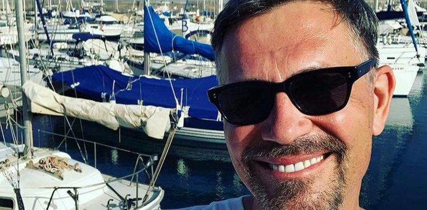 Krzysztof Ibisz wypoczywa z narzeczoną na Wyspach Kanaryjskich. Para po raz pierwszy pokazała swoje zdjęcia w sieci