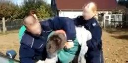Policjanci z drogówki szarpali kierowcę! FILM