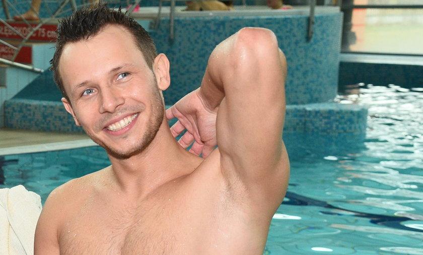 Mateusz Banasiuk, mistrzostwa aktorów w pływaniu