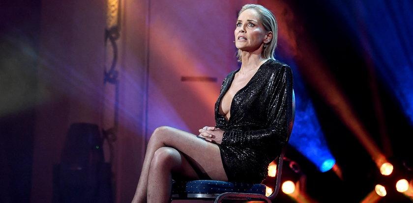 Sharon Stone zachwyciła figurą. 62-letnia aktorka pokazała zgrabne nogi