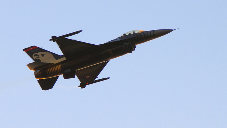 Turecki myśliwiec F-16