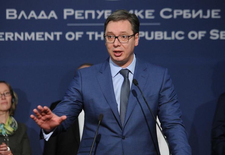 Aleksandar Vučić, NCR