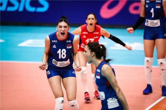 Tijana Bošković je dominirala protiv Holandije