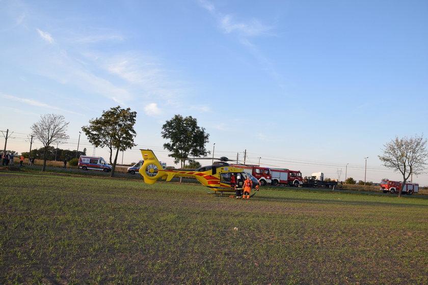wypadek w Recławiu