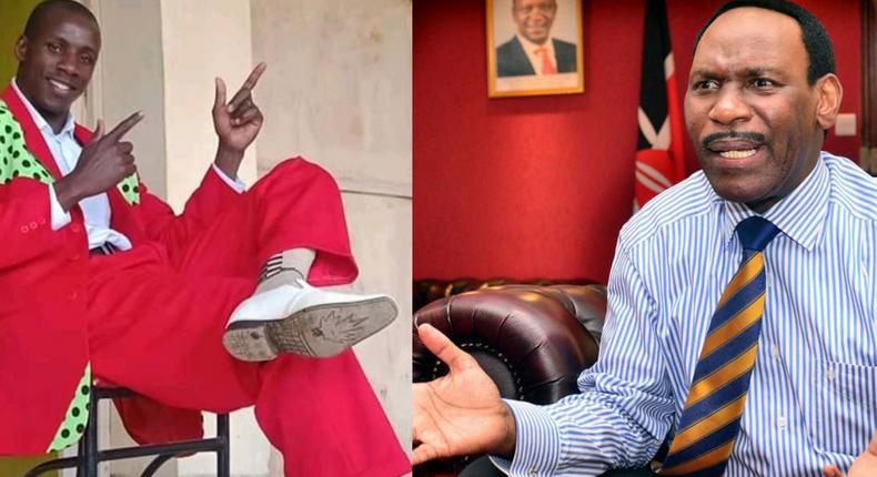 Ezekiel Mutua weighs in on Embarambamba's antics