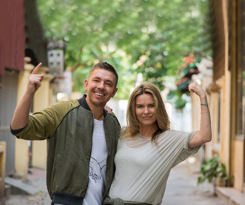 Hanna Lis i Łukasz Jemioł w Azja Express