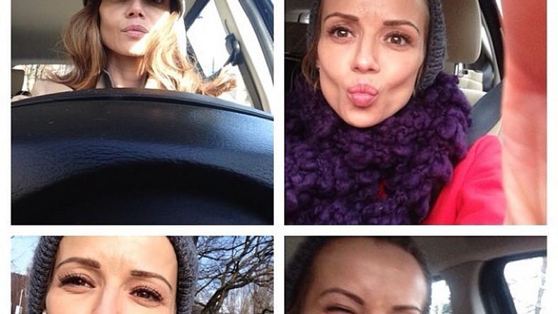 """""""Kochani Przesyłam Wam tę Pozytwną Energię, która Towarzyszyła mi Dziś!!! Miłego Weekendu"""" –pisała Anna Przybylska na swoim profilu internetowym"""