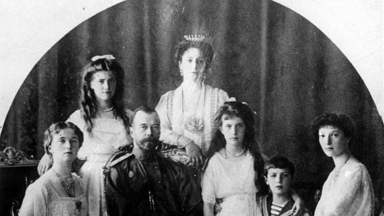 Oto carska rodzina przed rewolucją październikową