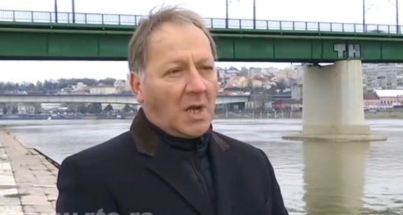 Zvonimir Kocić iz preduzeća Srbijavode